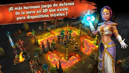 Siegecraft TD, un hermoso tower defense para Android con partidas multijugador
