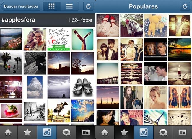 instagram tag y populares