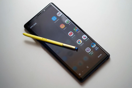 Samsung Galaxy Note 9 Frontal