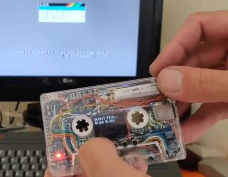 El Spectrum, más vivo que nunca: esta maravilla es TZXDuino, una placa Arduino en un casete para cargar software en el ZX original
