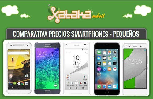 ¿Prefieres smartphones pequeños? Aquí tienes 29 alternativas disponibles con pago a plazos o libres