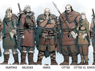 'Hel'blar: Los cazadores de Draugar': épica vikinga