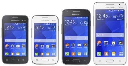 Samsung presenta una nueva hornada de smartphones Galaxy: Core II, Ace 4, Young 2 y Star 2