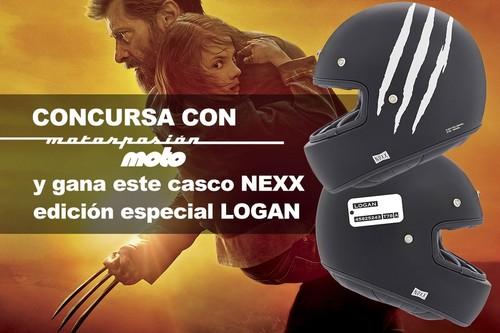 ¿Quieres un Nexx X.G100 edición especial Logan por la cara? ¡Participa gratis en nuestro sorteo!