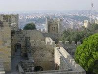 Castelo de São Jorge: vistas de Lisboa