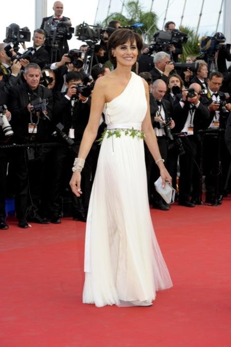 Ines de la Fressange Cannes 2012