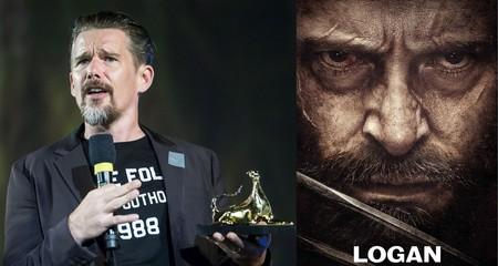 """""""Logan no es Bergman"""". Ethan Hawke cree que no debemos hablar de grandes películas cuando incluyen superhéroes"""