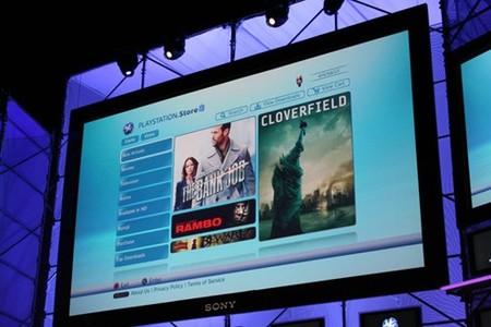 E3 2008: El 'VideoStore' de PS3 no llegará a Europa durante el 2008