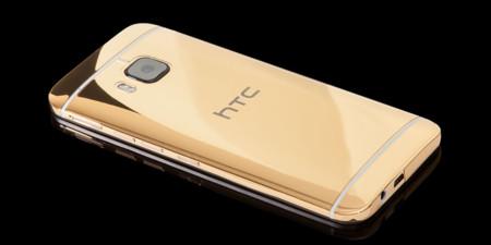 Goldgenie ya tiene lista sus versiones en metales preciosos del HTC One M9