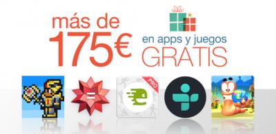 Amazon regala más de 175 euros en aplicaciones y juegos para celebrar las fiestas