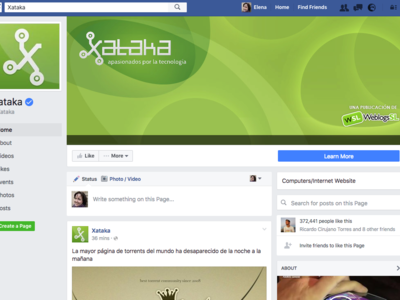 Facebook renueva sus páginas con un nuevo diseño sin publicidad