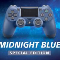 El Dualshock 4 suma dos nuevos modelos: Midnight Blue y Steel Black