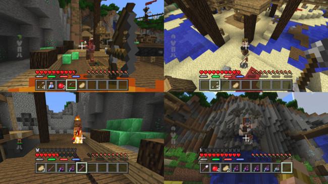 Minecraft Battle Mini Game Multijugador