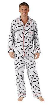 Pijama crucigrama