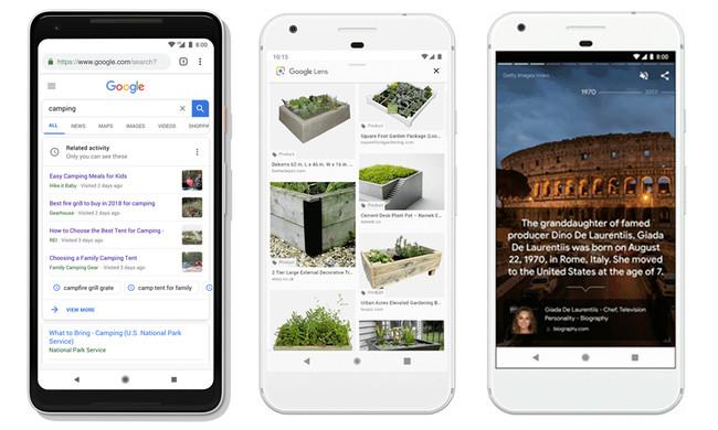 Google se suma a la moda de lo visual con historias a lo Instagram, búsqueda en imágenes mediante IA y más