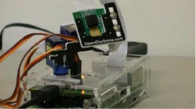 Pi-Pan, controla la posición de la cámara desde la Raspberry Pi