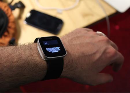 Investigadores trabajan en un teclado funcional para smartwatches