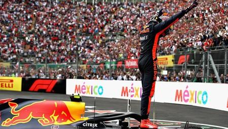 Verstappen Mexico F1 2019