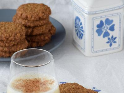Shortbread de copos de avena. Galletas rústicas para la hora del té (o cuando sea)