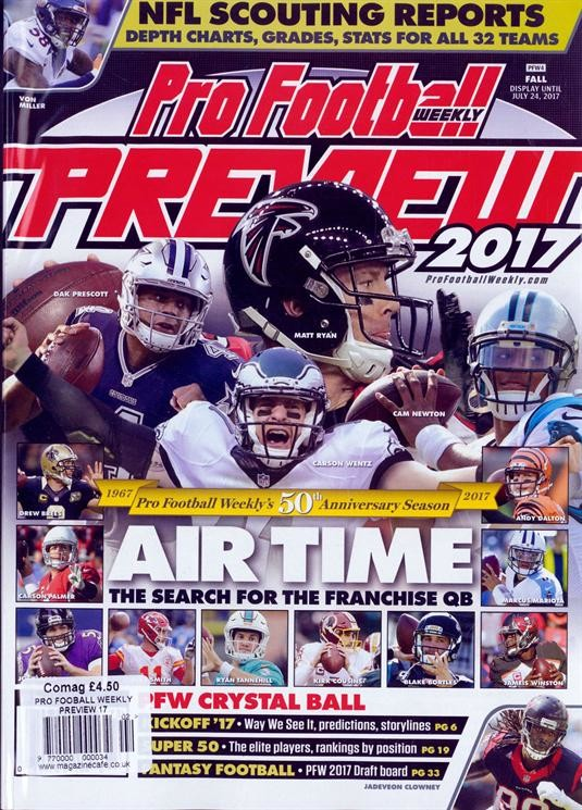 Pro Football Weekly Preview Prev 17