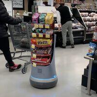 Este robot, además de perseguirte por el supermercado para que le compres chocolatinas, recoleta datos sobre preferencias de compra