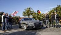 Audi A7 Sportback piloted driving concept, vigilando a Jack de De Silicon Valley a Las Vegas