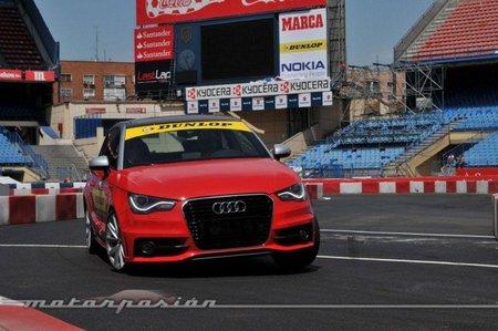 Entrada en curva Audi A1