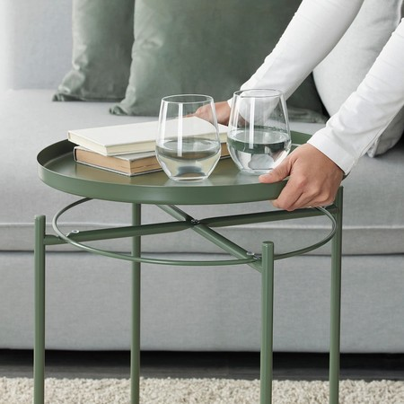 Gladom Tray Table Dark Green 0837211 Pe635158 S5