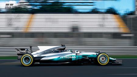 Este verano podrás pilotar el Mercedes Campeón del Mundo 2017 de Lewis Hamilton en el Gran Turismo