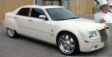 "El Chrysler 300C al estilo Rolls-Royce/Bentley de la ""Indiana Sheriffs Association"""