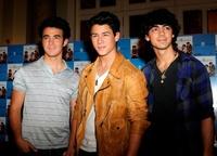 Los Jonas Brothers de promoción en Madrid