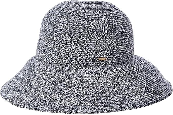 Sombrero de paja en forma de campana
