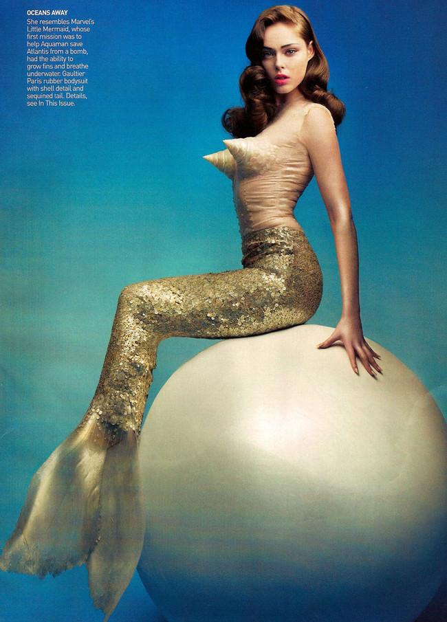 Foto de Superheroinas en Vogue mayo 2008 (1/7)