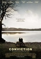 'Conviction' con Hilary Swank y Sam Rockwell, cartel y tráiler
