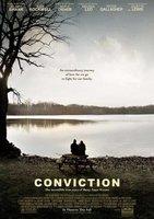 'Conviction' con Hilary Swank y Sam Rockwell, cartel y tráiler