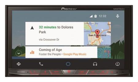 Pioneer ahora va por Android Auto en sus nuevos receptores multimedia
