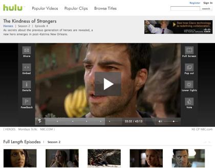 Hulu ya en beta privada