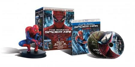 'The Amazing Spider-Man' llega con varias ediciones limitadas en dvd y blu-ray