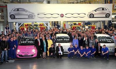 500.000 FIAT 500 fabricados
