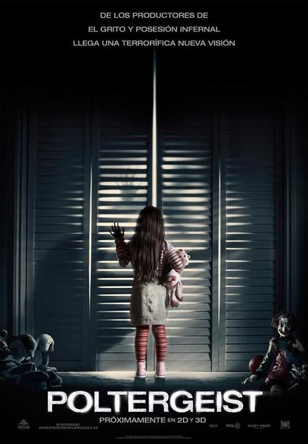 Primer cartel en español del remake de Poltergeist