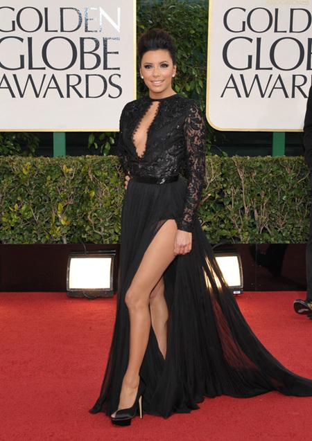 Globos de Oro 2013: Como que lo veo todo muy negro... pero glamouroso
