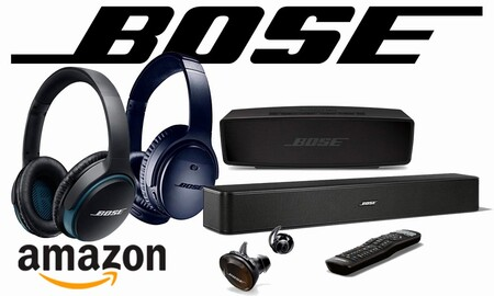 Auriculares e intraauriculares, barras de sonido o altavoces Bluetooth Bose ya a precios Black Friday en Amazon