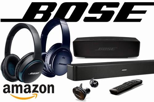 Auriculares e intraauriculares, barras de sonido o altavoces Bluetooth Bose ya a precios Black Friday en Amazon