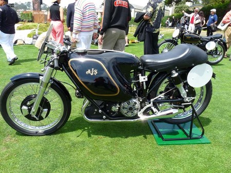AJS Porcupine E90, la primera ganadora del mundial de 500 cc