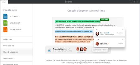 """Onlyoffice, el """"office"""" gratis que integra navegación por pestañas ya tiene paquete snap para Ubuntu"""