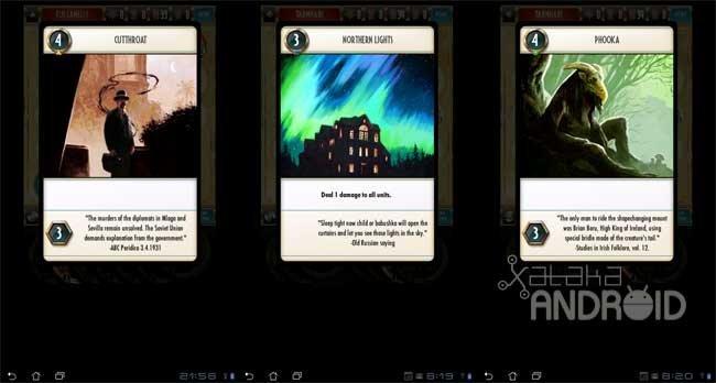 Cabals: Cartas del juego
