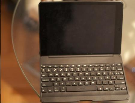 ZAGG Folio, aspecto del teclado para el iPad Air