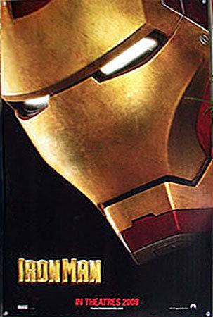 El primer (y algo borroso) póster de 'Iron Man'