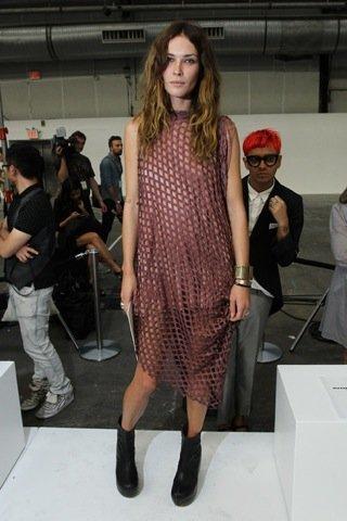 Erin Wasson, Semana de la Moda de Nueva York