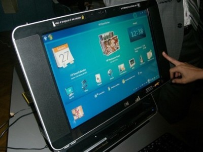 Novedades HP: Touchsmart PC y Media Vault